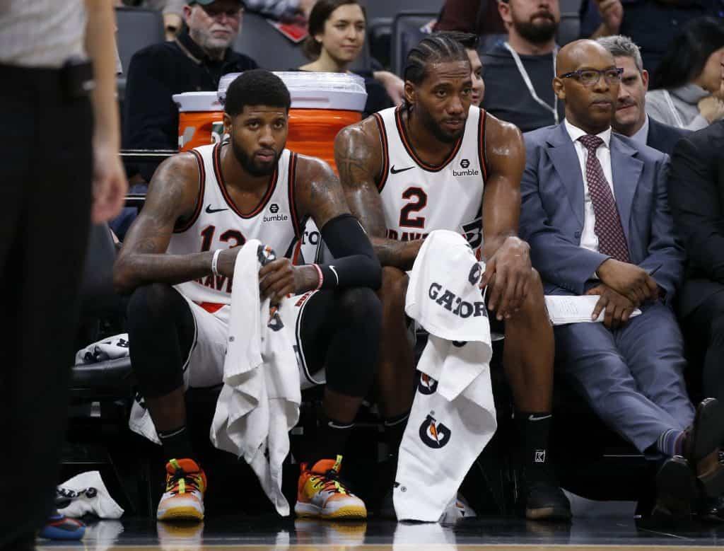 La frustrazione di Leonard e George dopo l'eliminazione dei Clippers